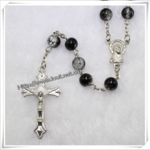 Religious Glass Beads Rosary, Catholic Rosary (IO-cr175) pictures & photos