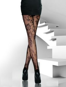 Floral Pattern Sexy Pantyhose 8582 pictures & photos