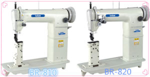 Br-810/820 High Speed Single/Double Needle Post Bed Sewing Machine pictures & photos