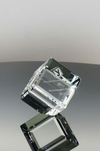 Primo Crystal Clipped Cube Gift (#5030, #5031, #5041) pictures & photos