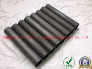 High Modulus Carbon Fiber Pole/Tube with Smooth Surface pictures & photos