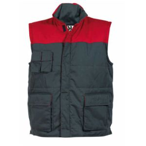 Fashion Men Padded Work Vest, Non-Sleeve Winter Jacket, Working Vest (UF230W) pictures & photos