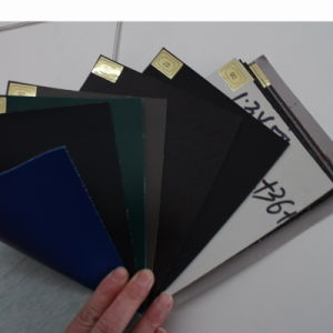 PVC Leather Stock with Varies Useage Used in Car Seat, Shoes, Sofa pictures & photos
