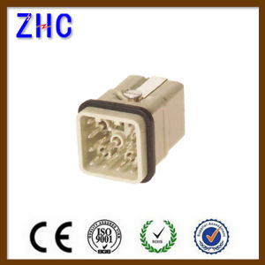 Hq Series 12 Pin Contacts Male and Female Heavy Duty Terminal Connector pictures & photos