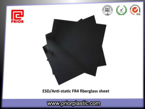 ESD/Anti-Static Materials, Black Fr4 Fiberglass Sheet pictures & photos