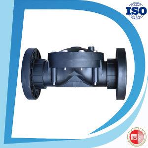 Plastic Nylon Material Black 2 Way Diaphragm Solenoid Control Valve pictures & photos