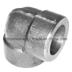 Forged Steel High Pressure Sw/Threaded 90 Degree Elbow pictures & photos