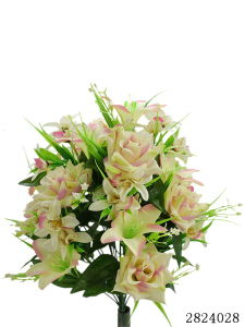 Artificial/Plastic/Silk Flower Rose, Orchid Bush (2824028) pictures & photos