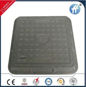 China Wholesale Square Composite Firberglass Gas Station Manhole Cover for Good Sale pictures & photos