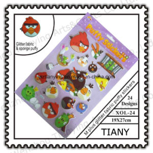 M Glittter Pop Puffy Stickers for Chit (XOL24)