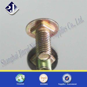 Yellow Zinc Mushroom Head Carriage Bolt pictures & photos