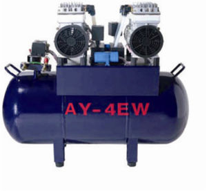 for Four Dental Units Witih Factory Price Oilless Air Compressor
