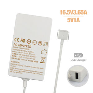 Slim USB 16.5V3.65A AC Power Adapter for MacBook Charger 60W pictures & photos