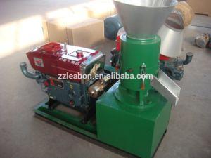 2017 Factory Price Ce Flat Die Diesel Pellet Mill Small Sawdust Pellet Mill pictures & photos