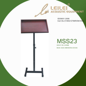 Tripod Base Music Sheet Stand (MSS23) pictures & photos