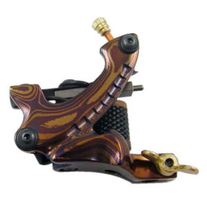 Wholesale Cheap Durable Damascus Coil Tattoo Machine E-17 pictures & photos