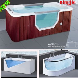 Luxury Outdoor Acrylic Whirlpool Hot Tub (722) pictures & photos