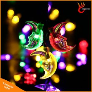 30LED Moon Shaped Solar String Light Fairy Christmas Tree Lights pictures & photos