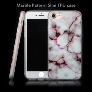 TPU Gel Soft Marble Pattern Back Case Cover, Durable Mobile Clear Slim Ultra Cover Case for iPhone 7 pictures & photos