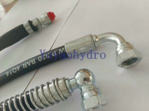 Hydraulic Hose/Rubble Hose/Flexible Hose Assembly with Hose Fitting pictures & photos