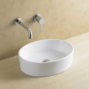 Ceramic/Porcelain Oval Art Basin for Bathroom (8021) pictures & photos