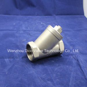 Ss304 Water Treatment Equipment Threaded Filter pictures & photos