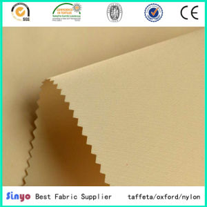 Polyurethane Coated 100% Polyester Light Weight 210d Lining Fabric pictures & photos