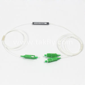 1 to 2 Sc APC Coupler PLC Splitter pictures & photos