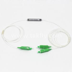1 to 2 Sc APC Coupler Passive PLC Splitter pictures & photos
