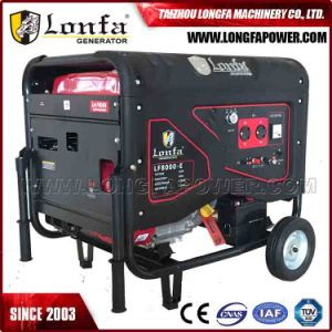 Hot Sale! Electric Start 15HP 6.5kv 6.5kVA 6.5kw Semi Closed Silent Gasoline Generator pictures & photos