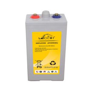 Competitive 2V Opzv Battery Solar Power China Manufacturer (5OPzV250)