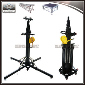 Foldable Lifting Tower DJ Truss Stand with Adjustable Height pictures & photos