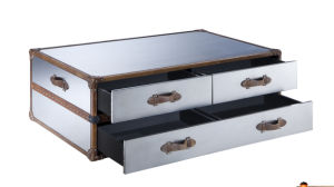 Classic Design Stainless Steel Coffee Table, Hotel Coffee Table, Tea Table Rtk-70 pictures & photos