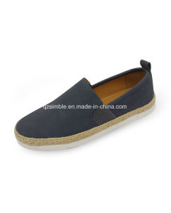 New Design Men Casual Shoes with Ramie Sole pictures & photos