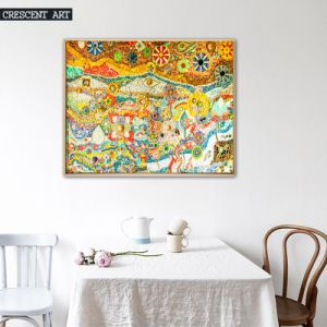 Abstract Colorful Oil Painting for Decor pictures & photos