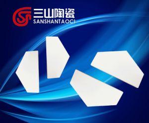 Hexagonal Hexagonal Half Chip Alumina Ceramics for Bulletproof Vest pictures & photos