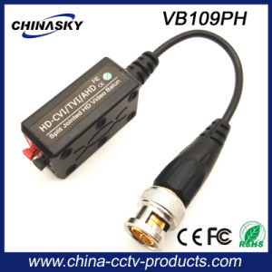 CCTV Screwless Passive HD-Cvi/Tvi/Ahd Video Balun with Pigtail (VB109pH) pictures & photos