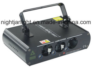 New 3 Heads RGB Full Color Laser Light pictures & photos
