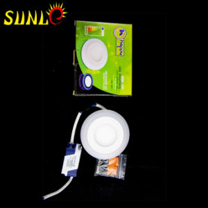 3+2W Dimmable LED Panel Round RGB LED Panel pictures & photos