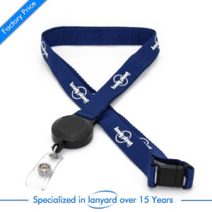 Custom Screen Printed Promotional Polyester Lanyard pictures & photos
