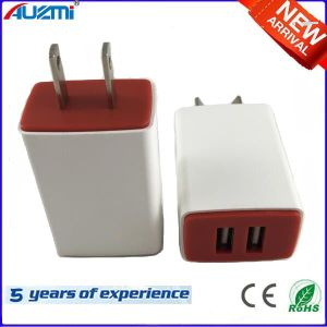 Dual USB Travel Charger with Universal Plug pictures & photos