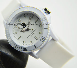 Fashion Custom Logo Watch Silicone Sport Watches for Promotion pictures & photos