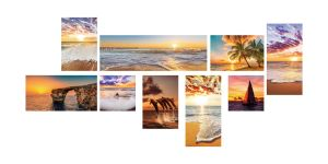 Hot Selling Combine Painting -Print Painting pictures & photos