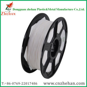 Flexible 1.75mm 3mm White 3D Printing Filament for 3D Printer pictures & photos