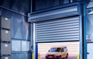 Interior Bifold High Perfermance Security Heavy Duty Visual Roller Shutters Door (Hz-RSD63) pictures & photos
