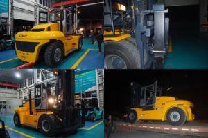 Samuk 32ton Diesel Forklift Truck with Original Cummins Engine pictures & photos