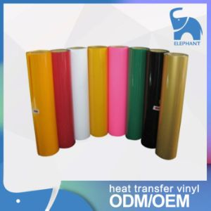 Factory Supply PU Heat Transfer Vinyl for Clothing pictures & photos