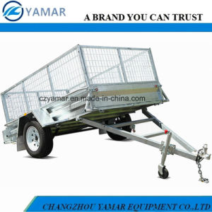 7FT. X 5FT. Cage Trailer with 600mm Height Mesh pictures & photos