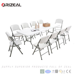 Orizeal Hot Sale 8FT Heavy Duty Folding Picnic Table (Oz-T2058) pictures & photos
