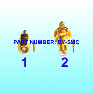 Crimp Male CCTV BNC Connector for Coaxial Cable pictures & photos